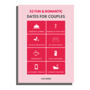 52 fun and romantic dates for couples - Lou Noire - cover