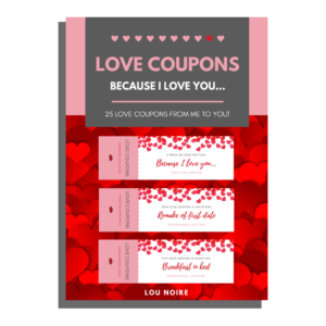 Love Coupons - Lou Noire - cover